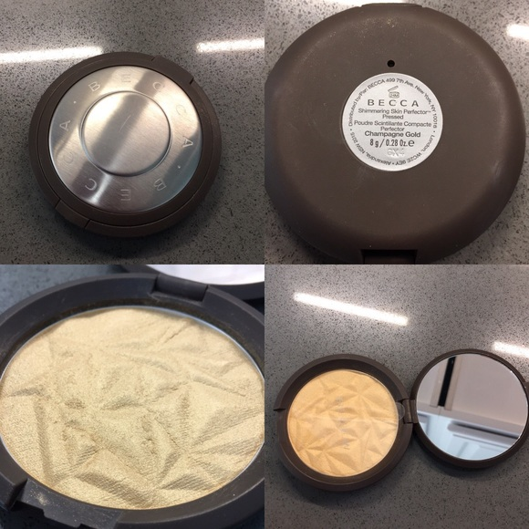 BECCA Other - Becca highlighter Pressed in Champagne Gold